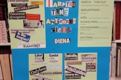 Tarptautinės Antikorupcijos dienos paminėjimas gimnazijoje